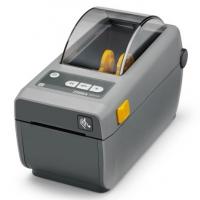 Принтер штрих-кода  Zebra ZD410(203 dpi) (USB, USB Host, BTLE, серый)